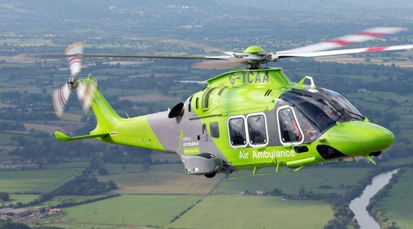 Childrens air ambulance image