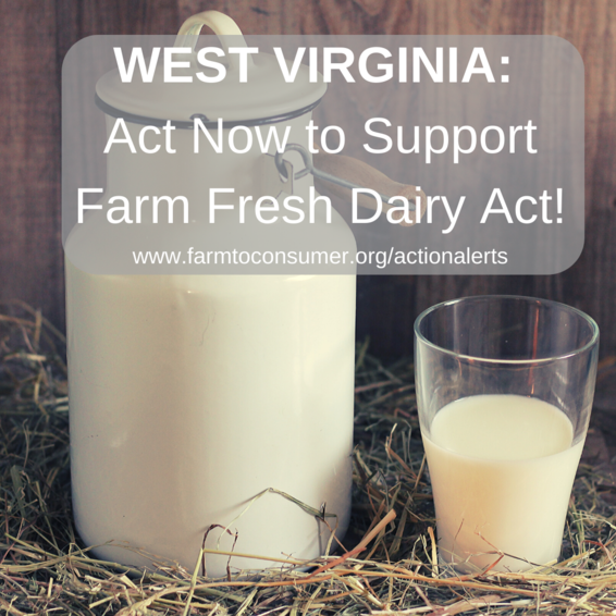 West Virginia Farm Fresh Dairy Act