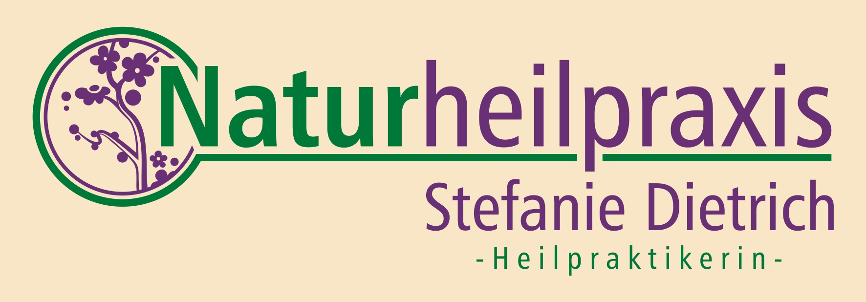 Logo Naturheilpraxis Stefanie Dietrich